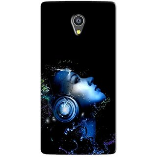 PREMIUM STUFF PRINTED BACK CASE COVER FOR MICROMAX YU 5530 YUNICORN DESIGN 5717