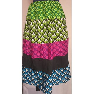 Multi Color designer Skirt