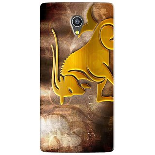 PREMIUM STUFF PRINTED BACK CASE COVER FOR MICROMAX YU 5530 YUNICORN DESIGN 5734