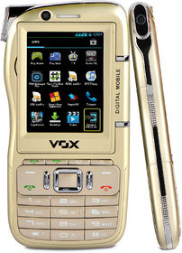 VOX 4 SIM Touch  Type Dual Camera Mobile cum Camcorder - DV10