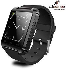 Clearex Super vision Smartwatch with Bluetooth and fitness Tracker (Black, White)