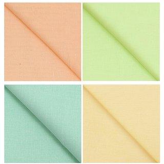 KUNDAN SULZ GWALIOR Men's 100% Cotton Multicolor Shirt Fabrics