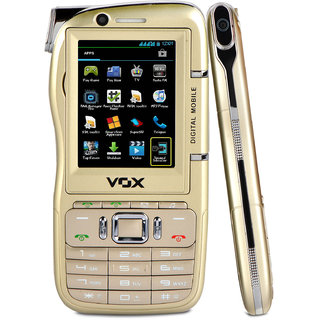 VOX DV10 Four SIM 2G 900 mAh Battery Dual Camera 2.4 Inches(6.1cm) Display Mobile