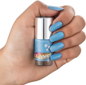 Clavo Long Wear Crme Nail Polish blue- 6ml