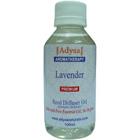 Adyaa Lavender  Natural Reed Diffuser Oil Refill + 10 Reeds
