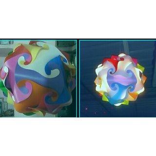 Lamp , Ball Lamp, Jigsaw  Puzzle Lamp, Hanging Lamp, Night Lamp, Ceiling Lamp, IQ Lamp , Beautiful Lamp, Room Lamp