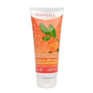 Patanjali Honey Orange Face Wash 60gm