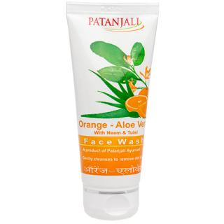 Patanjali Orange Aloevera Face Wash 60gm