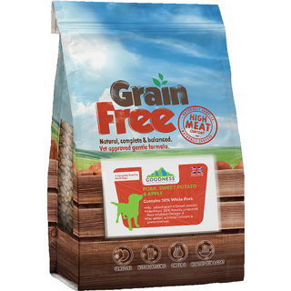Goodness Pork, Sweet Potato  Apple Grain free Dog Food