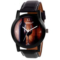 DCH IN.81 Black Analoge Wrist Watch For Men and Boys