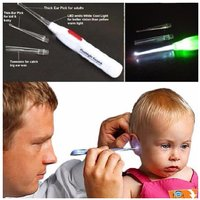 Safety Flash Light Ear Cleaner Ear Pick Wax Remover Earpick