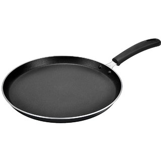 Paasapahce Non Stick Dosa Tawa Black 25.5 cms 3 mm thick PFOA  PTFE FREE