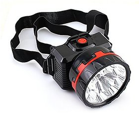 Emergency Solar LED Rechargeable 10 W ONLITE L715 Adventure Head  Torch (multicolour)