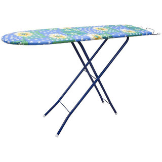 Multicolor Self Standing Ironing Board With Height Adjuster(Color as per availability)