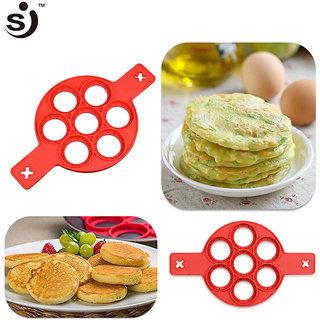 BANQLYN Pancake Maker Mold Silicone Pancake Flipper
