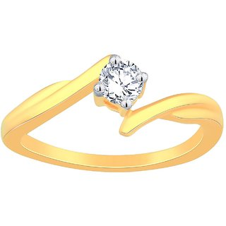 Beautiful Sparkling Diamond Ring SAR031SI-JK14Y From Celenne By Gili
