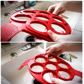 BANQLYN Flippin Pancake Mold Ring Makes the perfect pancakes eggs hash browns  brownies