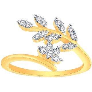 Beautiful Sparkling Diamond Ring FR058I1-JK14Y From Avnni By Nakshatra
