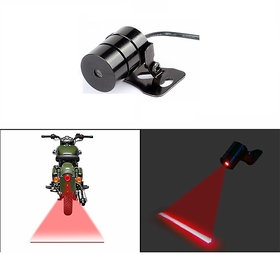 Autofy Universal Red Laser Gun / Red Warning Laser Gun Projector for Rear or Back (For all Bikes & Cars)