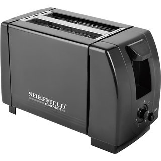 Sheffield Classic Pop up Toaster 750 Watt SH-6004 Black