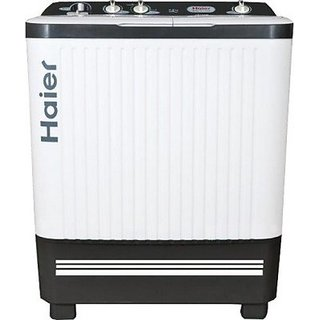 Haier 7.2 kg Semi-Automatic Top Loading Washing Machine (HTW72-187S S-1, White)