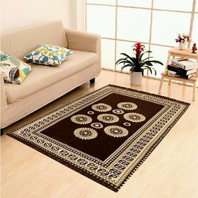 Home Castle Exclusive Cotton Jacquard Designer Carpet For Living Room (4.5 Feet X 7 feet)