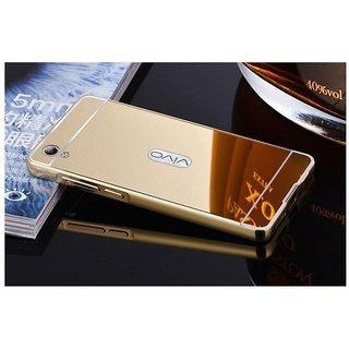Vivo V5 Plus Mirror Back Covers NKARTA - Golden