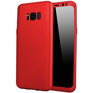 Galaxy S8 Plus Plain Cases 2Bro - Red