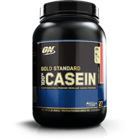 Optimum Nutrition (ON)  Casein Protein - 2 Lbs (Strawbe