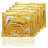 5 PAIR Beauty Gold Crystal Collagen Eye Mask  Eye Patches Moisture Eye Mask,Anti-Aging Face Care Skin Care Eye Patches