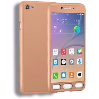 Oppo F1s Plain Cases Mercator - Golden