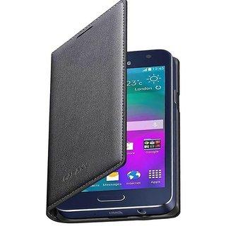 Lenovo Vibe K5 Plus Flip Cover by Elica - Black