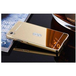 Vivo Y51L Mirror Back Covers Saira - Golden