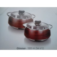 Casseroles/ Hot Pots  Glimmer Twins Gift Sets 1000 + 1000 Ml