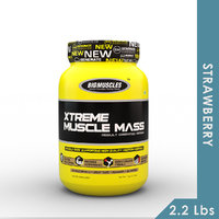 Big Muscles Xtreme Muscle Mass 2.2 Lb Strawberry