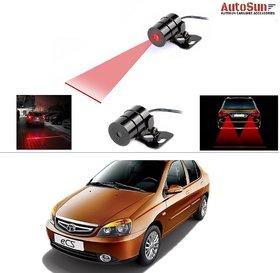 AutoStark Car Rear Laser Safety Line Fog Light RED For Tata Indigo Ecs