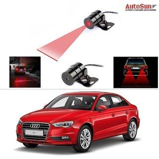 AutoStark Car Rear Laser Safety Line Fog Light RED For Audi A3
