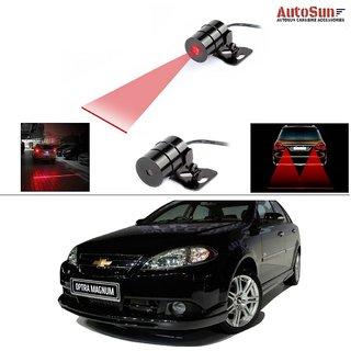 AutoStark Car Rear Laser Safety Line Fog Light RED For Chevrolet Optra Magnum