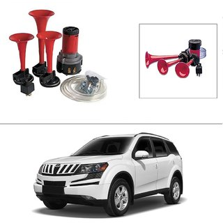 AutoStark 3 Pipe Car Air Pressure Horn works on 12v dc Current -Mahindra Xuv 500