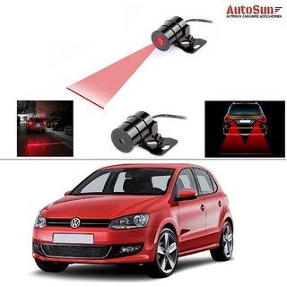 AutoStark Car Rear Laser Safety Line Fog Light RED For Volkswagen Polo 2015