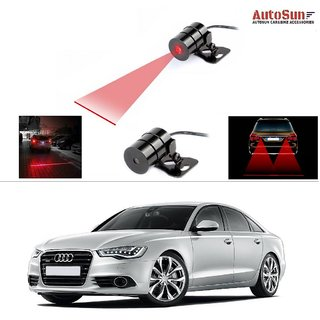 AutoStark Car Rear Laser Safety Line Fog Light RED For Audi A6