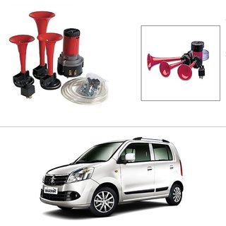 AutoStark 3 Pipe Car Air Pressure Horn works on 12v dc Current -Maruti Suzuki Wagon R Duo