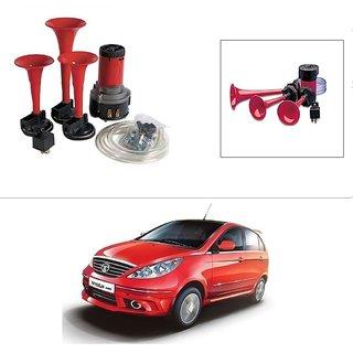 AutoStark 3 Pipe Car Air Pressure Horn works on 12v dc Current -Tata Vista Tech