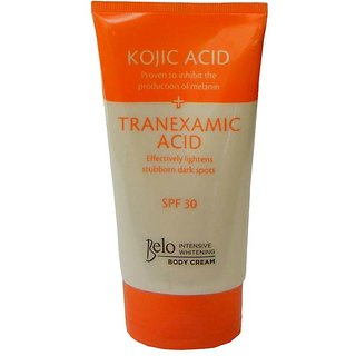 Belo Herbal Intensive Whitening Body Cream Lotion With Kojic and SPF 30 150g