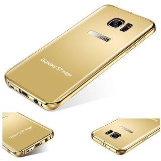 Samsung Galaxy S7 Edge Cover by Doyen Creations - Golden
