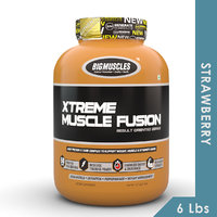 Big Muscles Xtreme Muscle Fusion 6 Lbs Strawberry