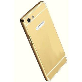 VIVO Y55S Mirror Back Covers 2Bro - Golden