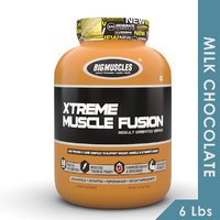 Big Muscles Xtreme Muscle Fusion 6 Lbs Milk Chocolate