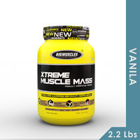 Big Muscles Xtreme Muscle Mass 2.2 Lb Vanilla