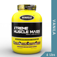 Big Muscles Xtreme Muscle Mass 6 Lbs Vanilla